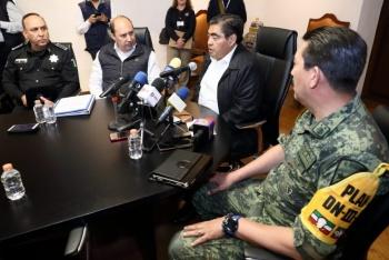 Barbosa anuncia instalación de sistema de alerta sísmica en Puebla