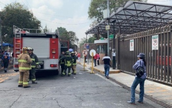 Por fuga de gas desalojan Hospital de Pemex en Azcapotzalco