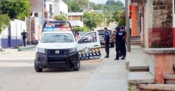 Se desata balacera en secundaria de Chiapas donde se refugiaron asaltantes