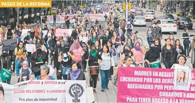 Otra vez marchan vs. Violencia de género