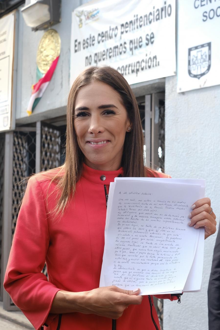 Rechaza AMLO confabulación en contra de Rosario Robles