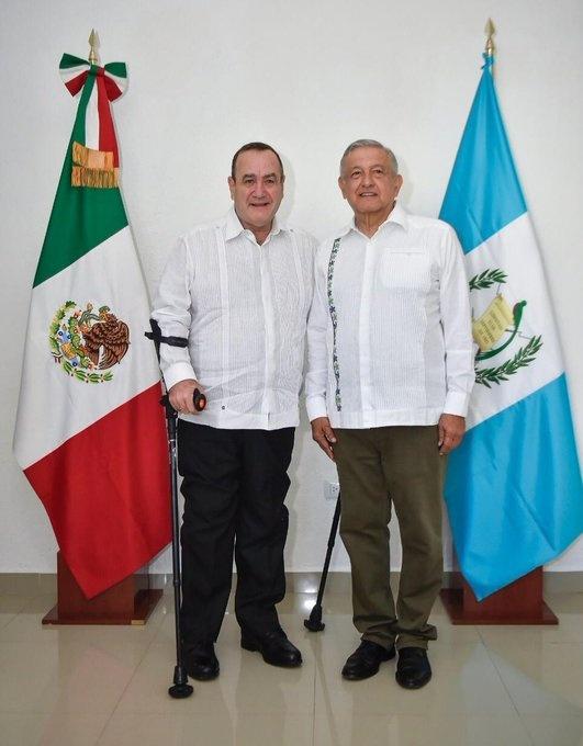 Sostienen encuentro el presidente de México y el mandatario electo de Guatemala
