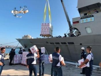 México envía 70 toneladas de ayuda humanitaria a Las Bahamas