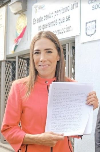 """Exige Rosario Robles a AMLO """"un juicio justo y sin saña"""""""