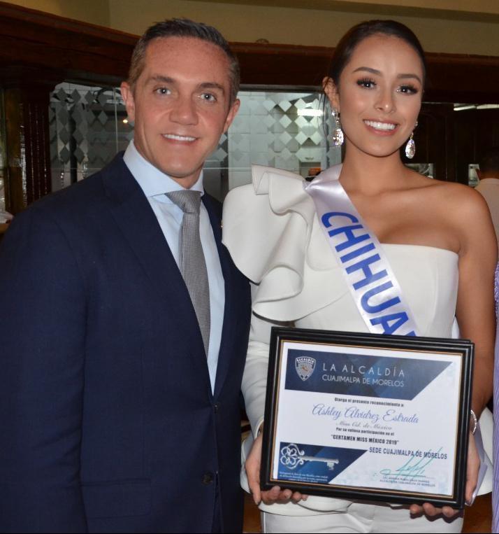 Felicita alcaldía Cuajimalpa a Ashley Alvidrez por su triunfo en Miss México