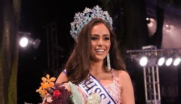 Ashley Alvídrez, la nueva reina del certamen Miss México