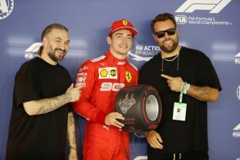 Leclerc pone a Ferrari como líder en prácticas en Singapur