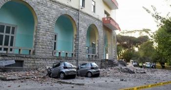 Dos sismos en Albania dejan 49 heridos e importantes daños materiales
