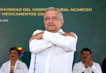 Destaca AMLO avance de Campeche en seguridad
