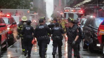 VIDEO: Rascacielos en Nueva York arde en llamas; hay tres heridos