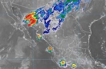 Lorena se degrada a depresión tropical; tocará tierra en Guaymas