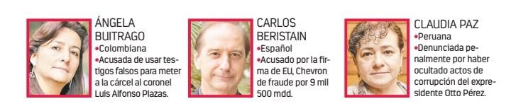 ...Y tres de los expertos del GIEI cargan acusaciones en sus países
