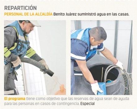 Abastecen agua con pipas gratuitas en BJ