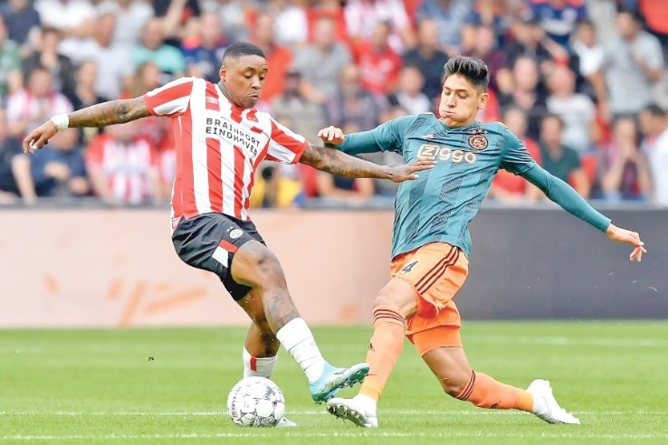 Edson Álvarez encabeza el Clásico de Holanda y el Ajax es superlíder