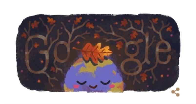 Google celebra la llegada del otoño con doodle