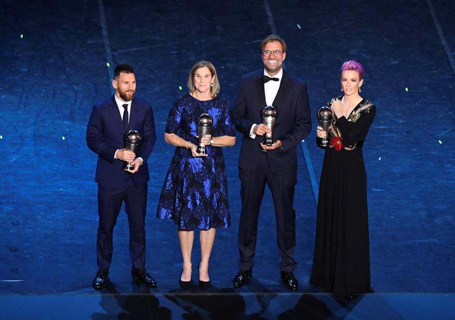 """Ellos son todos los ganadores del """"The Best"""""""