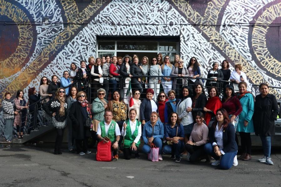 Mujeres empresarias de varios estados buscan mayor vinculación con la CEDA