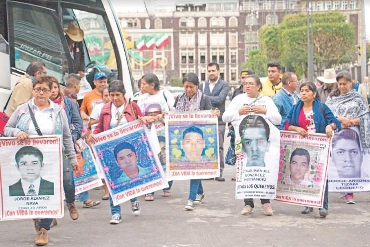 Solicita CIDH inmunidad de detención para investigadores de Ayotzinapa