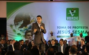 Jesús Sesma, nuevo líder del PVEM en la CDMX