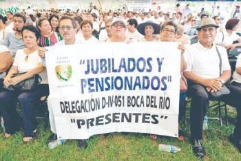 SNTE consigue regulación de pagos a jubilados