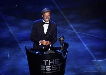 Jurgen Klopp, elegido como el entrenador del año por la FIFA