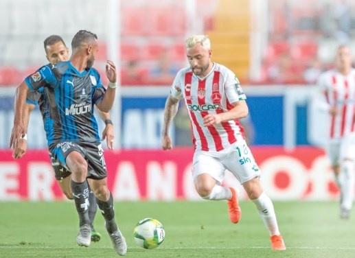 Querétaro y Necaxa disputan duelo por liderato del Torneo