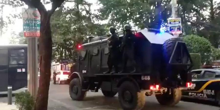 Detienen a 31 personas por presuntos delitos financieros en la alcaldía Benito Juárez