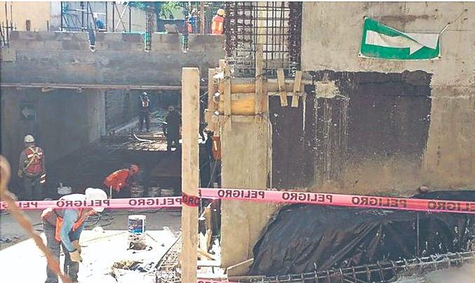 Derrumbe en vivienda en Chapultepec deja 4 heridos