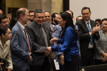 Aprueba Senado convocatoria para elegir al nuevo titular de la CNDH