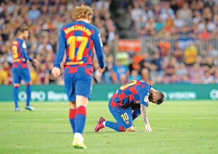 Lionel Messi sufre otra lesión en triunfo del Barcelona