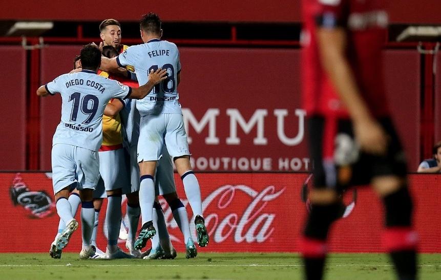 Atlético de Madrid cumple ante el Mallorca en LaLiga