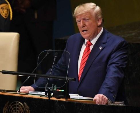 ...Y en asamblea de la ONU, Trump agradece a México