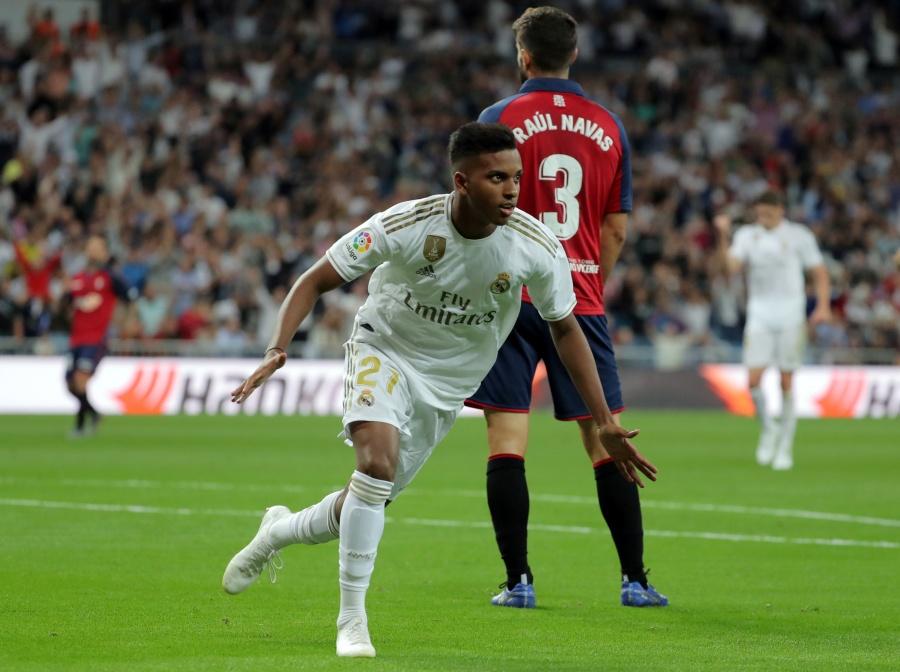 Vinicius y Rodrygo guían al Real Madrid en su triunfo frente al Osasuna