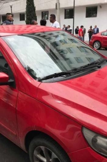 Localizan auto utilizado en el robo a la Casa de Moneda