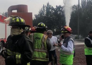 Atienden fuga de vapores en Iztacalco; no es gas LP, aclaran autoridades