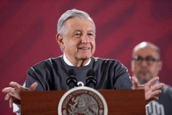 Afirma AMLO que México es visto como un país menos corrupto
