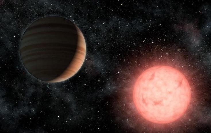 """Hallan un planeta """"imposible"""": es enorme y orbita una estrella enana"""