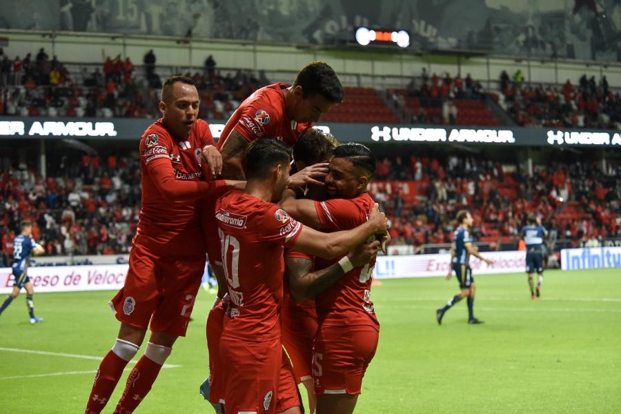 Toluca se luce en casa y domina al Atlético San Luis