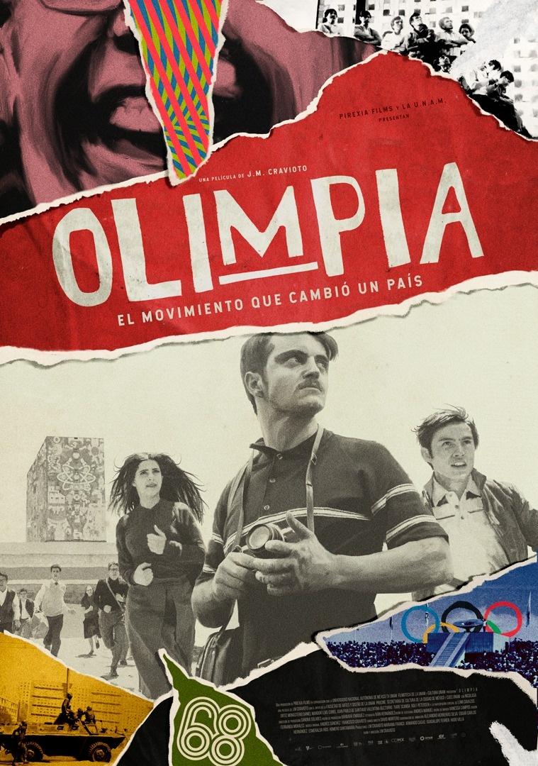 """""""Olimpia"""" y su versión animada del movimiento del 68"""