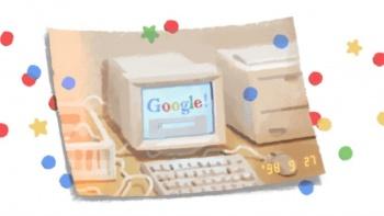 Buscador Google cumple 21 años y los festeja con doodle