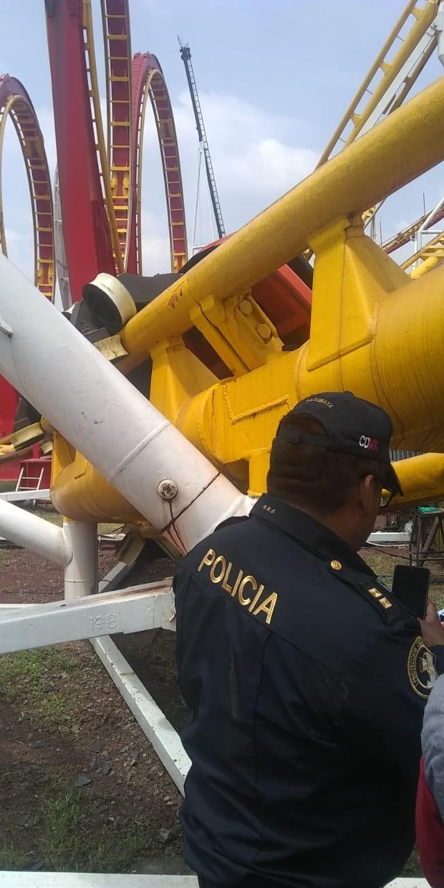 Accidente en la Feria de Chapultepec deja dos muertos