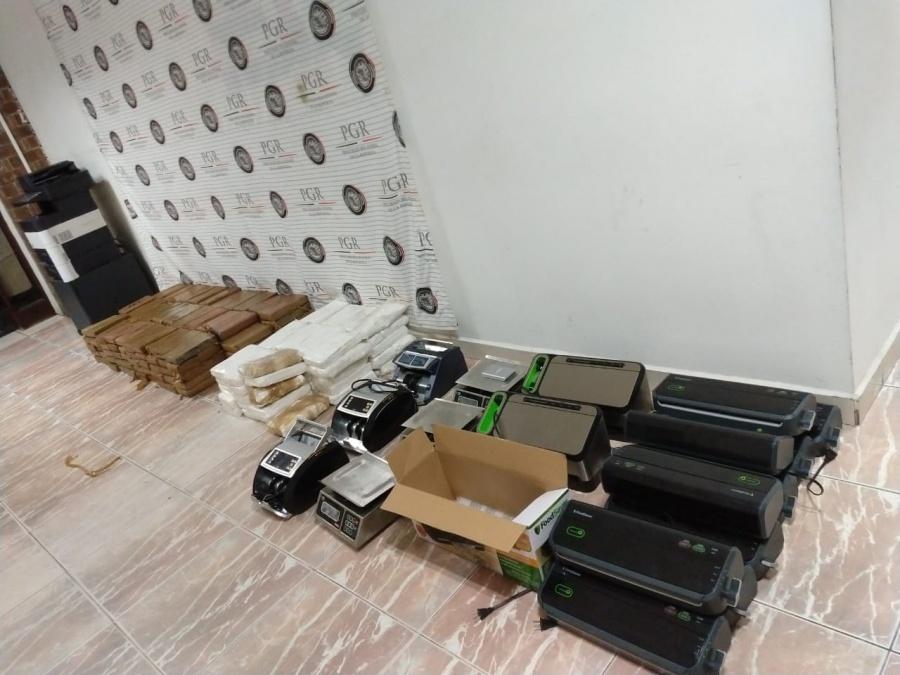 Aseguran cargamento de cocaína con valor millonario en Tamaulipas