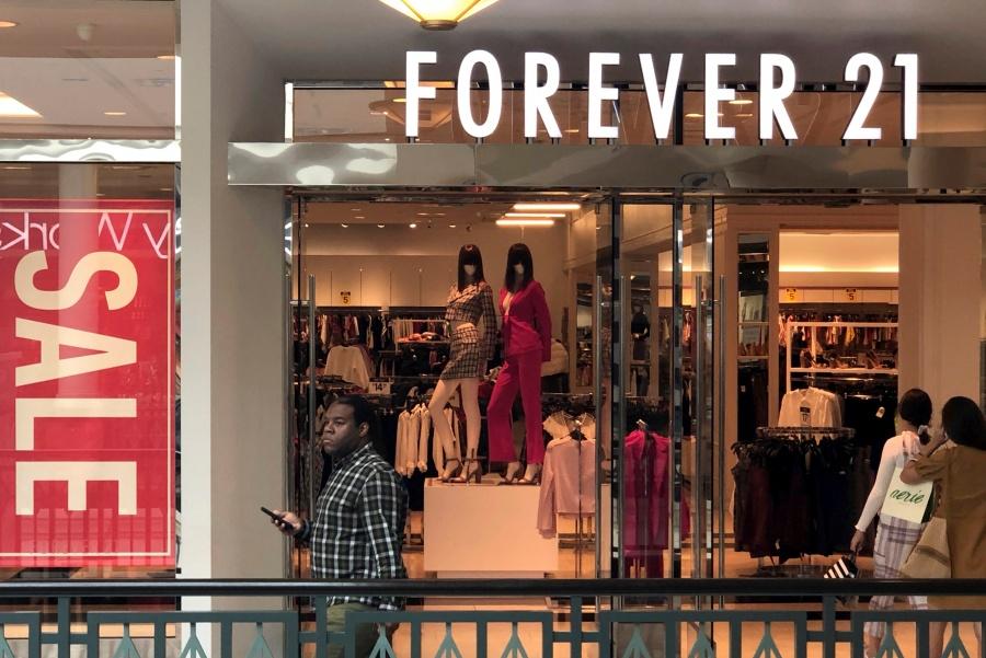 Forever 21 pide protección por bancarrota
