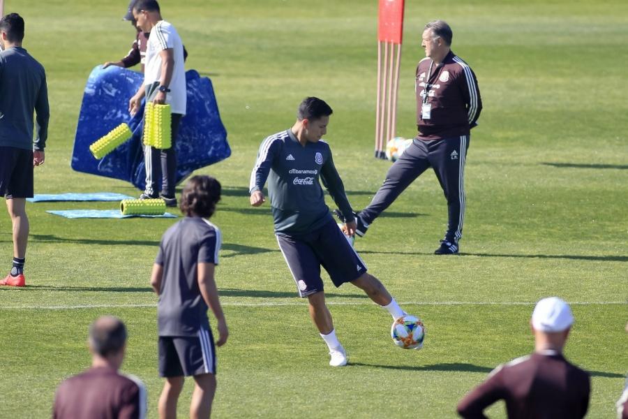 Selección mexicana se alista para el duelo amistoso con Trinidad y Tobago