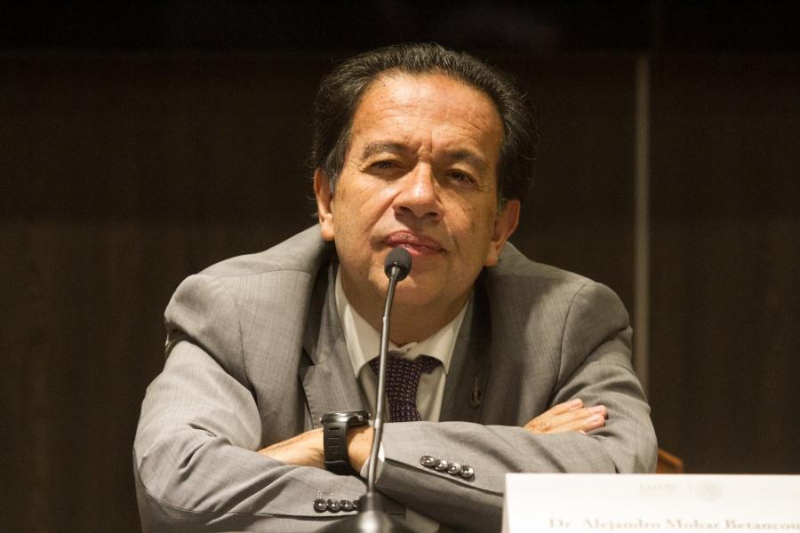 Alejandro Mohar renuncia como comisionado de institutos de salud