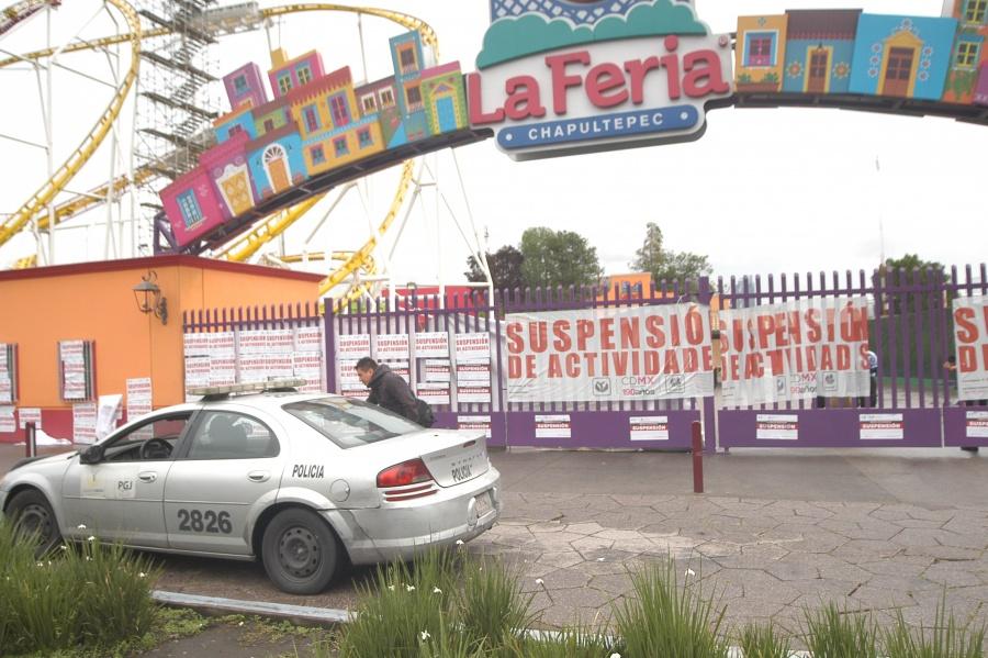 Se facilitan elementos para esclarecer hechos en La Feria de Chapultepec