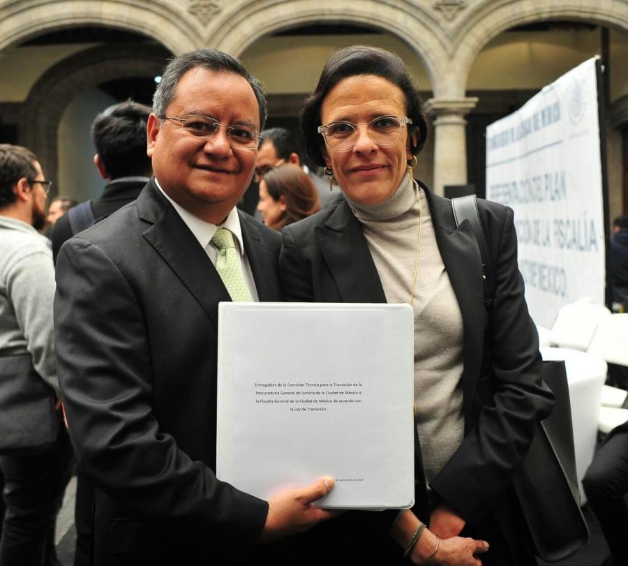 Con el Plan de Transición de la Fiscalía, la CDMX se pone a la vanguardia: Santillán