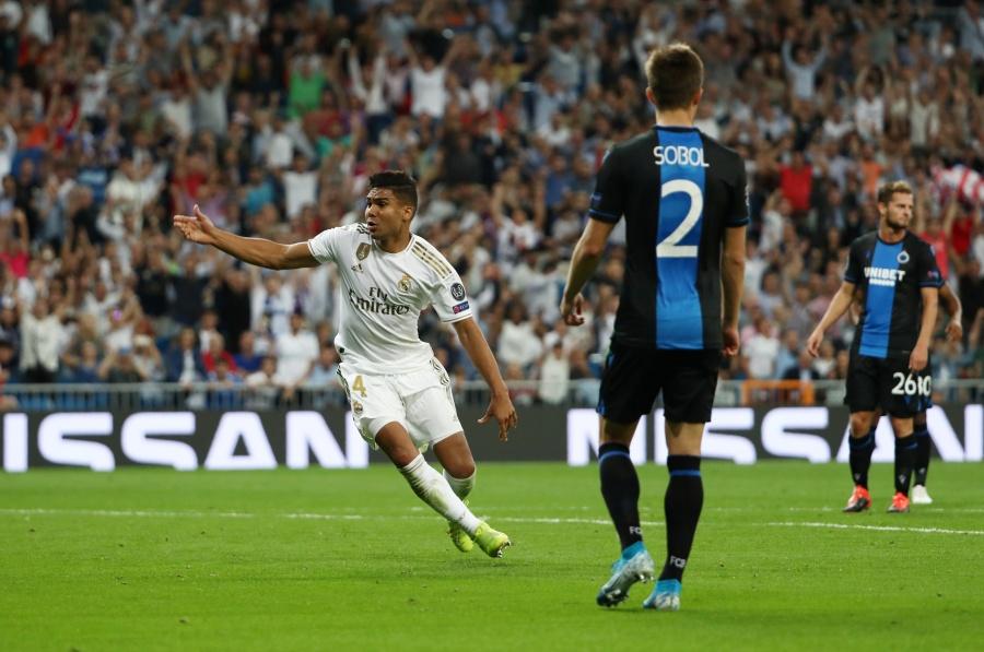 Real Madrid rescata el empate ante el Brujas en la Champions
