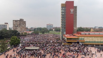 Escuelas de la UNAM estarán en paro por 51 aniversario de la masacre de 1968
