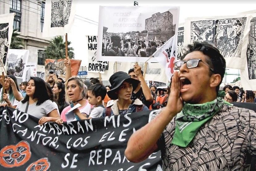 """GCDMX pide a comerciantes """"no abrir"""" por marcha del 2 de octubre"""